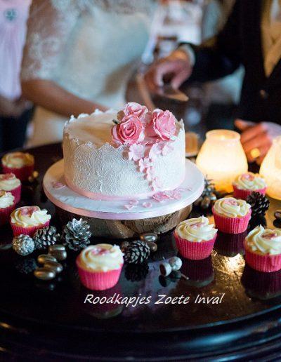 bruidstaart trouwen blikenbloosfotografie