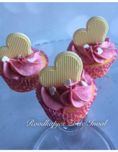 mini cupcakes valentijnsdag