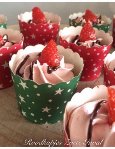 mini cupcakes suikervrij lactosevrij eivrij vegan