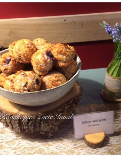 sweet table kokosmakronen