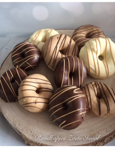 donuts chocolade