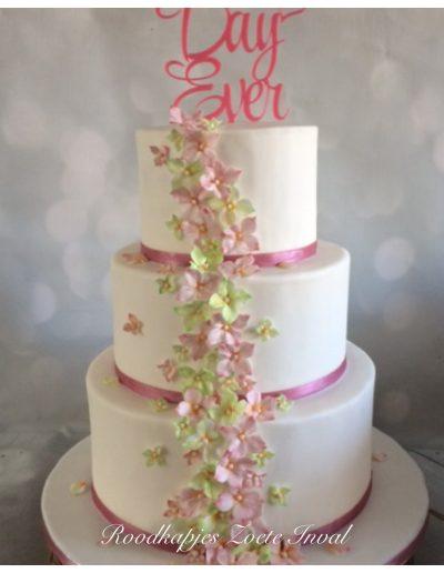 bruidstaart bruiloft trouwen
