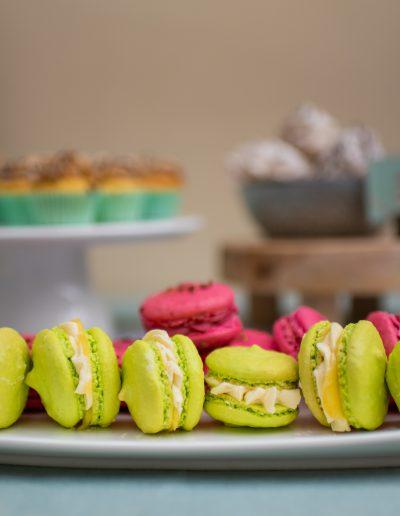 aniekfotografiestyling macarons sweet table trouwen bruiloft