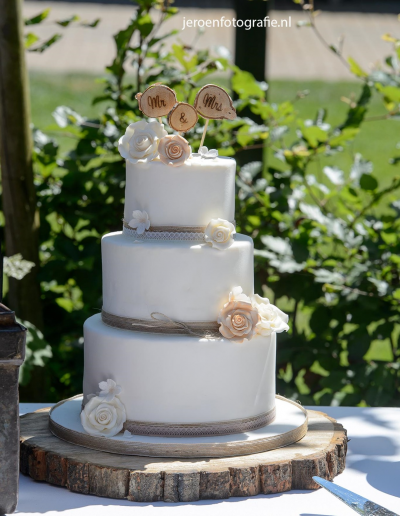 bruidstaart bruiloft trouwen jeroenfotografie